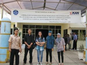 Kunjungan ke LIPI Oseanografi, Jakarta