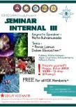 Seminar Internal III KSK BIOGAMA